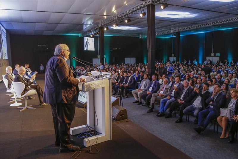 Prefeito Rafael Greca, abre o Smart City Expo Curitiba 2019, no Expo Barigui. Curitiba, 21/03/2019. Foto: Pedro Ribas/SMCS