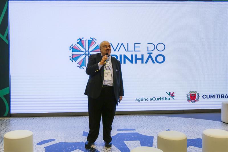 Prefeito Rafael Greca, na Smart City Expo 2019, no Expo Barigui. Curitiba, 21/03/2019. Foto: Pedro Ribas/SMCS