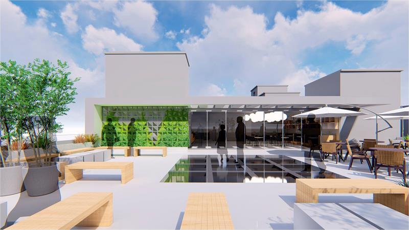 O Moinho da Inovação será o primeiro prédio público de Curitiba (e o segundo no Brasil) com certificação internacional de sustentabilidade. Ilustração: IPPUC