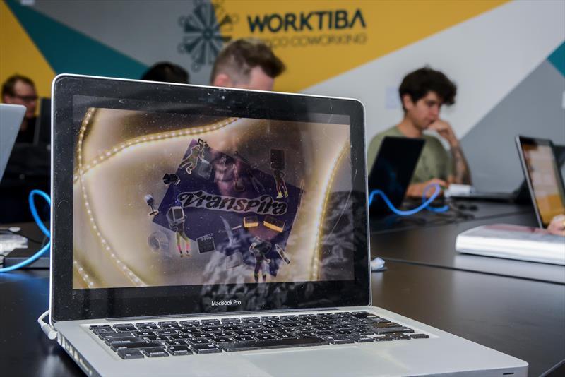 Startup curitibana que acaba de entrar no Worktiba Cine Passeio. Curitiba, 12/04/2019. Foto:Levy Ferreira/SMCS