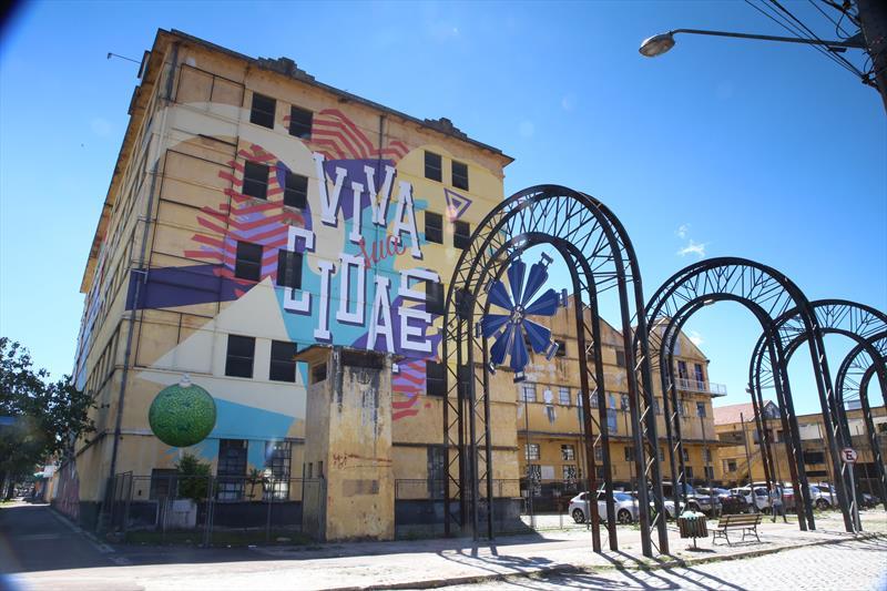 Vale do Pinhão no Moinho Rebouças, que abriga a Fundação Cultural, Agência Curitiba de Desenvolvimento e Inovação. Foto:Cesar Brustolin/SMCS
