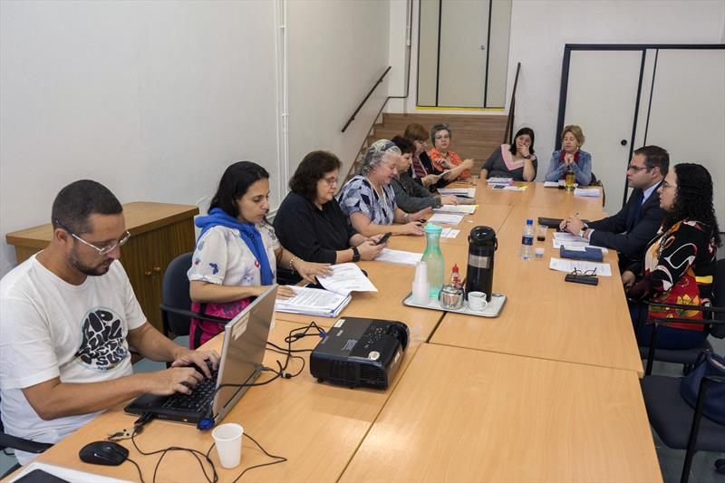 Reunião com o Sindicato dos Agentes Comunitários do Paraná. Curitiba, 07/05/2019. Foto: Valdecir Galor/SMCS
