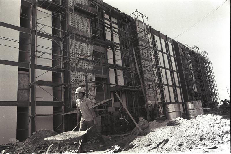 Fundada em maio de 1965, a Companhia de Habitação Popular de Curitiba (Cohab) completa 54 anos de atividade nesta quarta-feira (8/5).   - Na imagem, Conjunto Mal Rondon. Foto: Divulgação Cohab