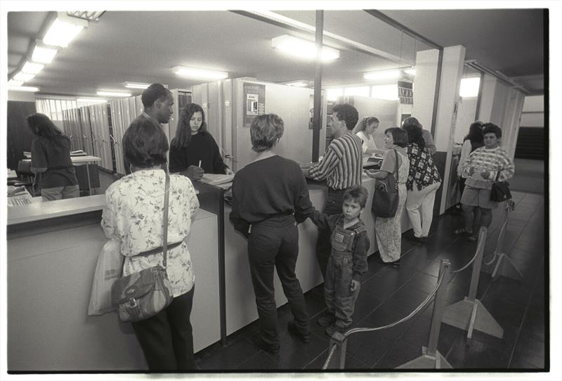 O Instituto de Previdência dos Servidores do Município de Curitiba, o IPMC, celebra o aniversário de 60 anos da instituição. Foto: Arquivo Público