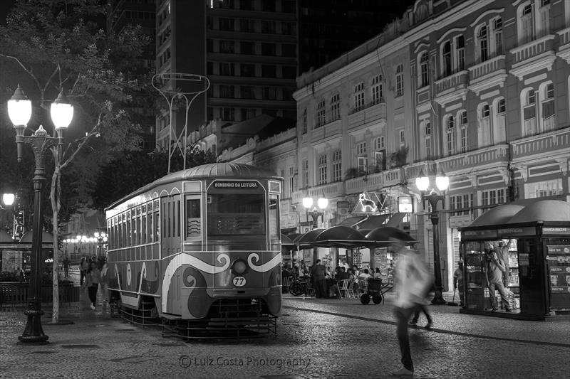 Bondinho da Rua XV Centro. Foto: Luiz Costa /SMCS
