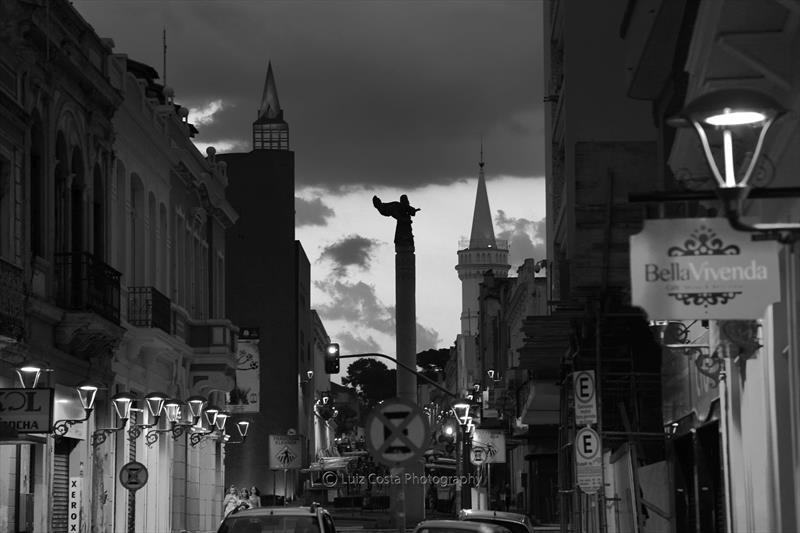 Rua São Francisco Centro. Foto: Luiz Costa /SMCS