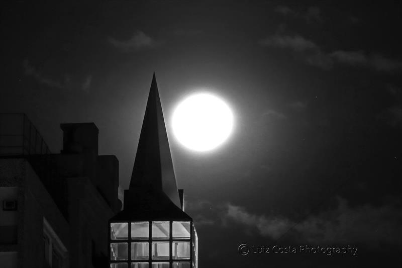 Torre no telhado da Casa da Memória. Foto: Luiz Costa /SMCS