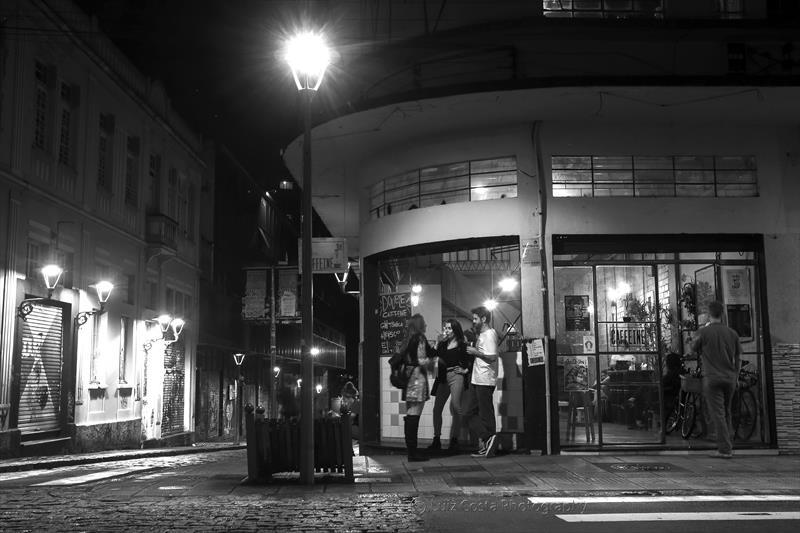 Barzinho na Rua Riachuelo.  Foto: Luiz Costa /SMCS