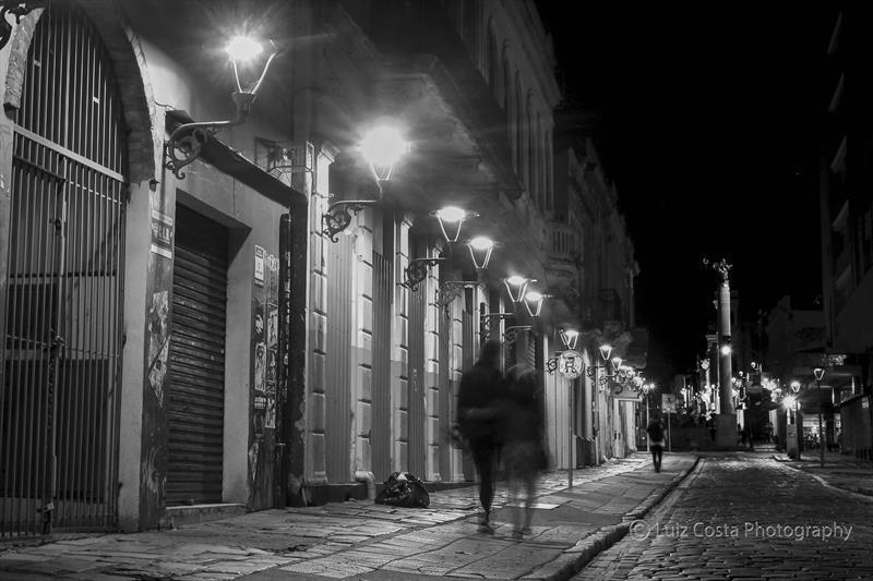 Rua São Francisco no Centro. Foto: Luiz Costa /SMCS