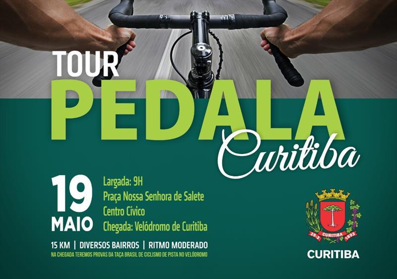 No domingo (19/05), a Smelj vai promover o Tour Pedala Curitiba. Com saída às 9h da Praça Nossa Senhora de Salete, no Centro Cívico.