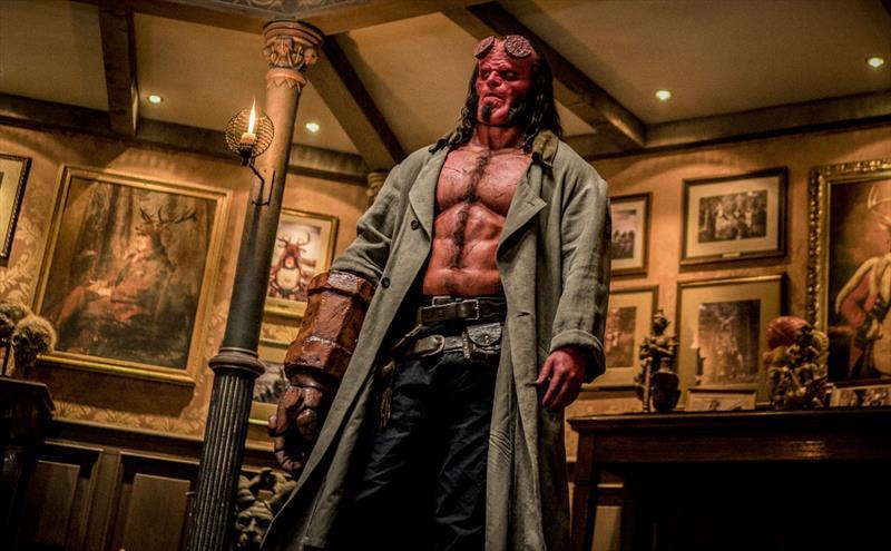 Comédia romântica e franquia Hellboy em cartaz no Cine Passeio. Foto: Divulgação