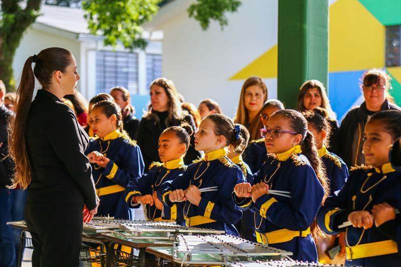 Entrega das obras na Escola Municipal CEI José Cavallin, no bairro Sítio Cercado - Curitiba, 15/05/2019 - Foto: Daniel Castellano / SMCS