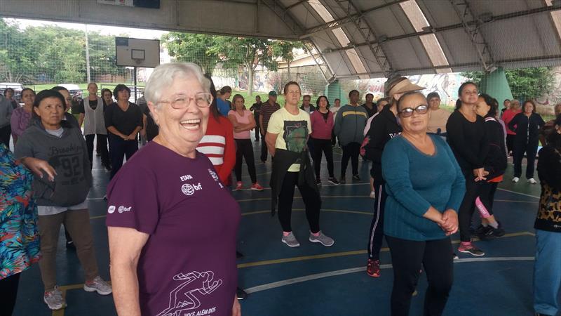 Aulão gratuito de ritmos reúne 150 pessoas no Boqueirão Foto: Divulgação