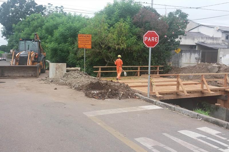 Nova ponte deixa travessia mais segura no Cajuru. Foto: Divulgação