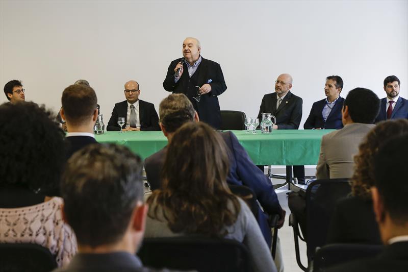 Prefeito Rafael Greca, participa da inauguração da sede da Defensoria Pública, no Centro. Curitiba, 22/05/2019. Foto: Pedro Ribas/SMCS