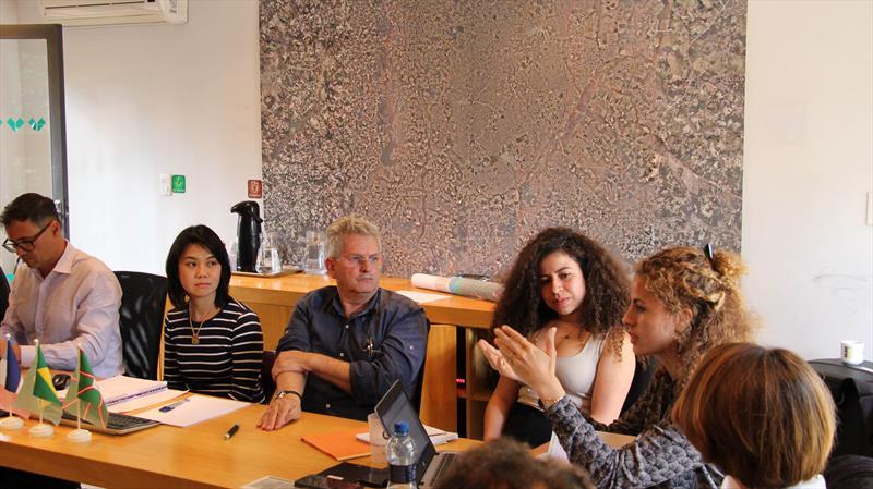 Agência Francesa destaca continuidade nos projetos de Curitiba. Curitiba, 22/05/2019. Foto: Divulgação