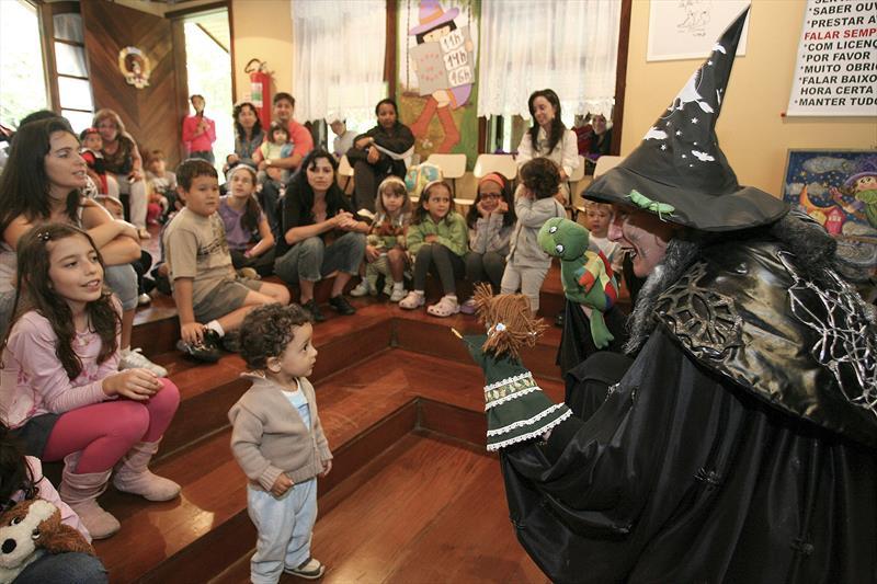 Casa Encantada terá contação de histórias em Libras para crianças surdas. Foto: Luiz Costa/SMCS  (arquivo)
