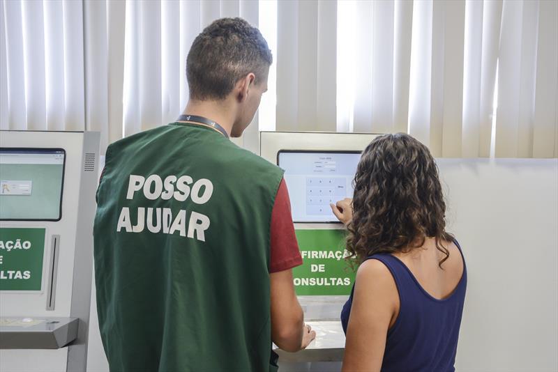 Centro de Atendimento ao Beneficiários do ICS.  Curitiba, 25/02/2019. Foto: Levy Ferreira/SMCS