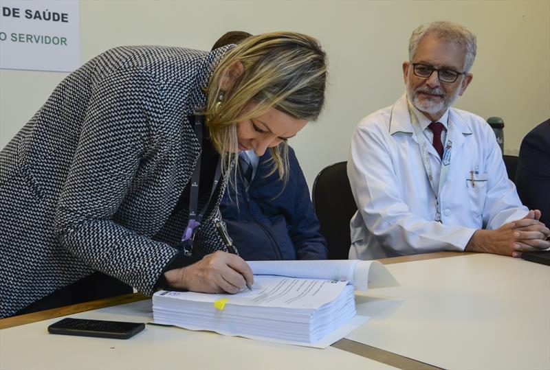 Lançamento do plano de saúde empresarial para celetistas do ICS.   - Na imagem,  Presidente do ICS, Dora Pizzatto. Curitiba, 29/05/2019. Foto: Levy Ferreira/SMCS
