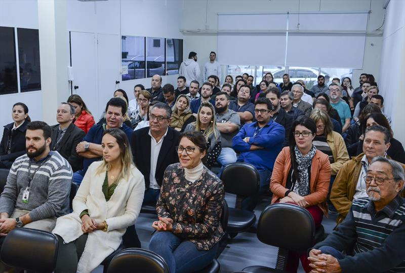 Lançamento do plano de saúde empresarial para celetistas do ICS. Curitiba, 29/05/2019. Foto: Levy Ferreira/SMCS