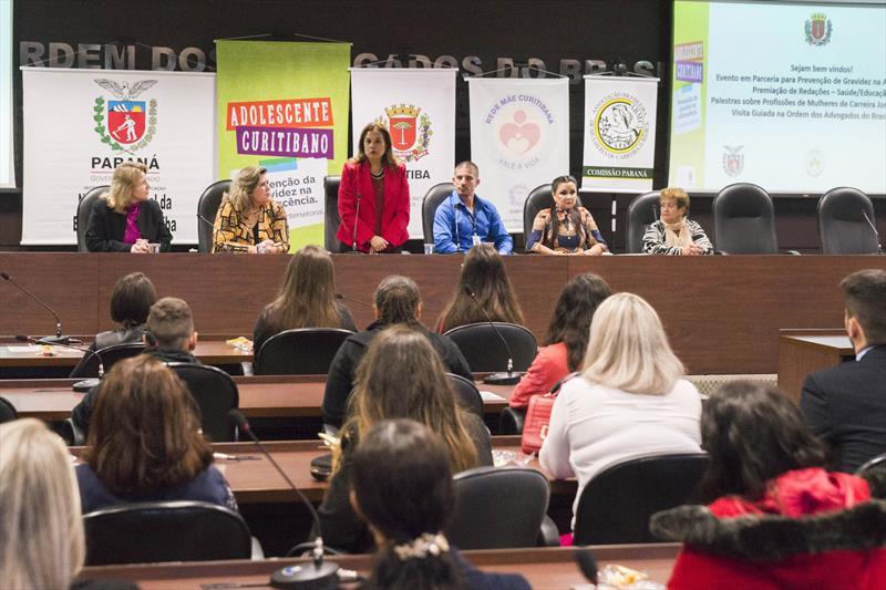 Premiação de redação  com tema Prevenção de Gravidez na Adolescencia. Curitiba, 29/05/2019. Foto: Valdecir Galor/SMCS