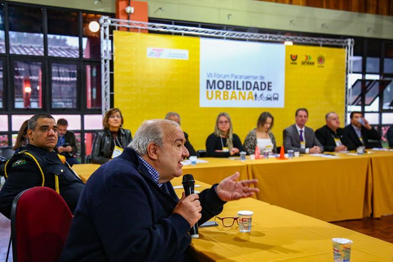 Fórum Paranaense de Mobilidade Urbana, no Parque Barigui. Na imagem Prefeito Rafael Greca - Curitiba, 31/05/2019 - Foto: Daniel Castellano / SMCS