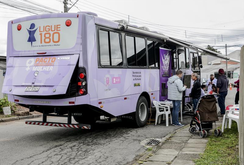"""A Rua da Cidadania da Matriz, na Praça Rui Barbosa, recebe o evento """"Curitiba, Teu Nome é Mulher!"""". Foto: Levy Ferreira/SMCS"""