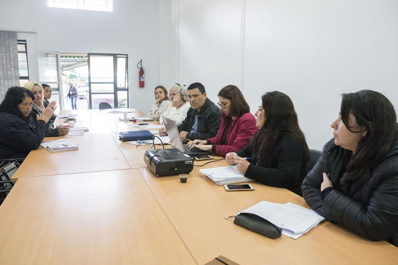 Reunião do RH com Sismuc sobre a pauta dos professores de educação infantil. Curitiba, 11/06/2019. Foto: Valdecir Galor/SMCS