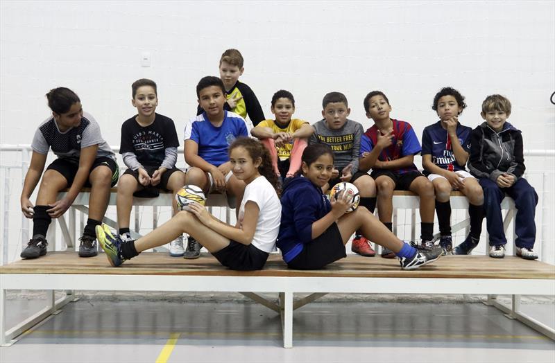 Futsal no Parque dos Peladeiros.  Curitiba, 11/06/2019. Foto: Lucilia Guimarães/SMCS