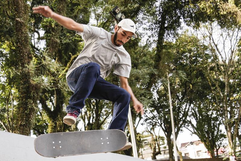 Sábado é Dia do Skate na Rua da Cidadania Santa Felicidade. Foto: Luiz Costa /SMCS.