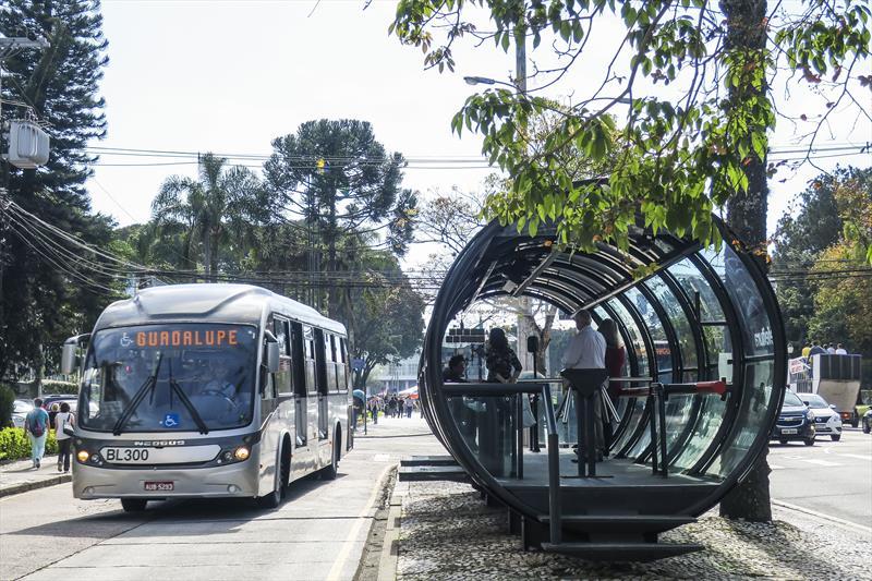 95% da frota de ônibus já está circulando. Curitiba, 14/06/2019. Foto: Pedro Ribas/SMCS