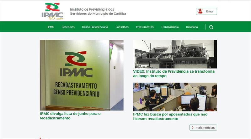 Portal do IPMC é modernizado para melhorar acesso dos servidores aposentados e dos da ativa.