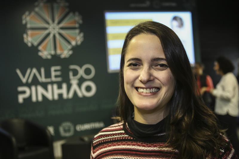 Workhop Empreendedora Curitibana no engenho de inovação.  - Na imagem, Thais Charello. Curitiba, 13/06/2019. Foto: Luiz Costa /SMCS.
