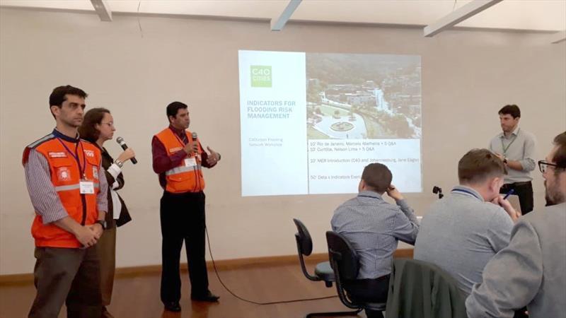 Defesa Civil participa de evento internacional sobre mudanças climáticas. Foto: Divulgação