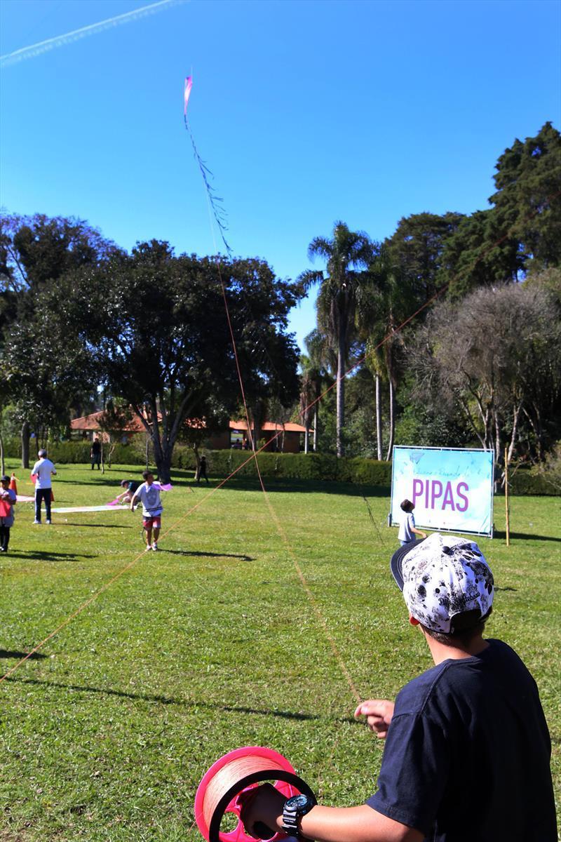 O fim de semana também terá Jogos do Piá, com oficina e revoada de pipas na Praça Zumbi dos Palmares. Foto: Cesar Brustolin/SMCS