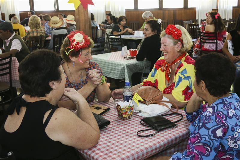 O prefeito Rafael Greca participa da festa Junina da regional Boa Vista, no clube Duque de Caixias. Curitiba, 14/06/2019. Foto: Luiz Costa /SMCS