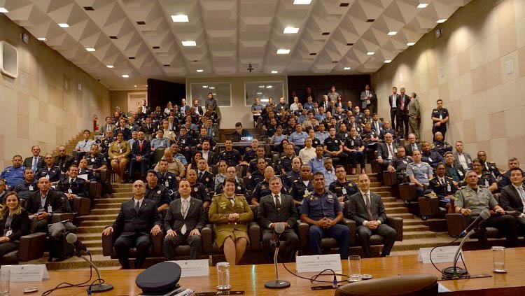 Em Brasília, Guarda Municipal discute atuação em segurança pública. Foto: Divulgação