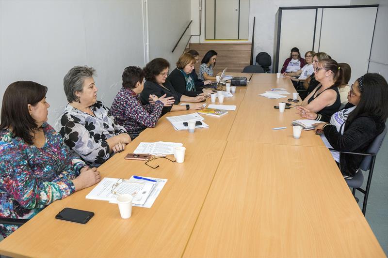 Prefeitura recebe sindicato para debater pautas da Saúde. Curitiba, 14/06/2019. Foto: Valdecir Galor/SMCS
