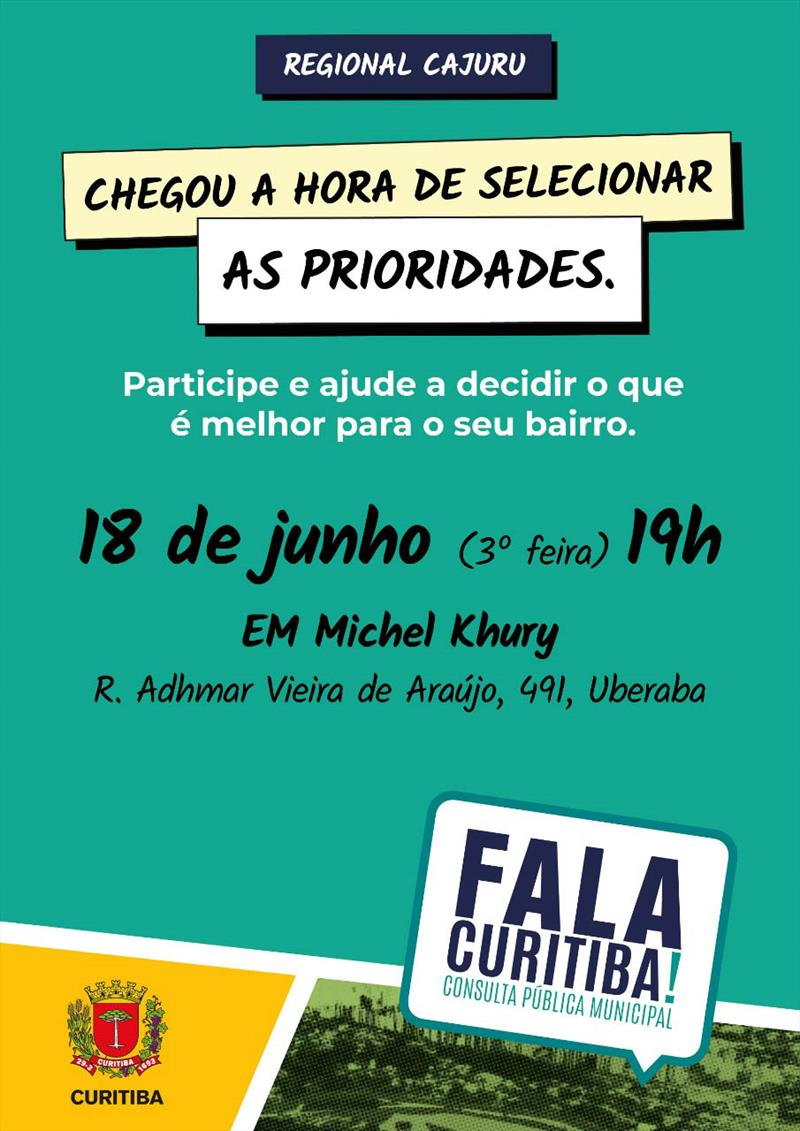 Fala Curitiba escola Michel Khury.