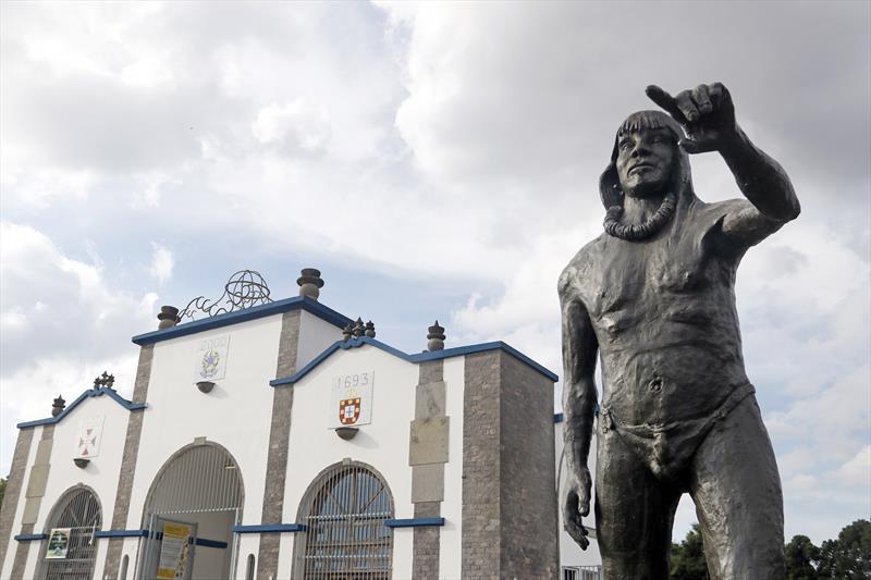Fundação de Curitiba é tema de aula no Parque Histórico Vilinha. Foto: Lucilia Guimarães/SMCS