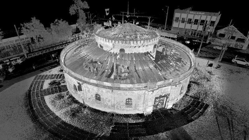 O mapeamento de obras e edificações com scanner a laser, já está sendo usado em Curitiba. Imagem: Arte Maggiore