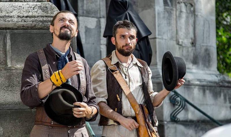 Cinemateca recebe mostra inédita com seis filmes ucranianos.  - Na imagem, cena do filme Nobres Vagabundos. Foto: Divulgação