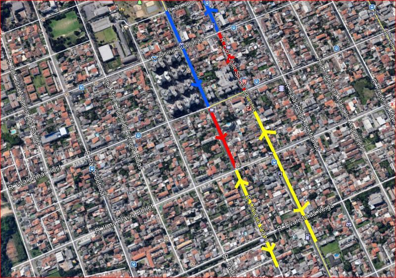 Nesta terça-feira (25/6), um novo binário começa a funcionar no Hauer para melhorar a fluidez do tráfego e diminuir o congestionamento na região.
