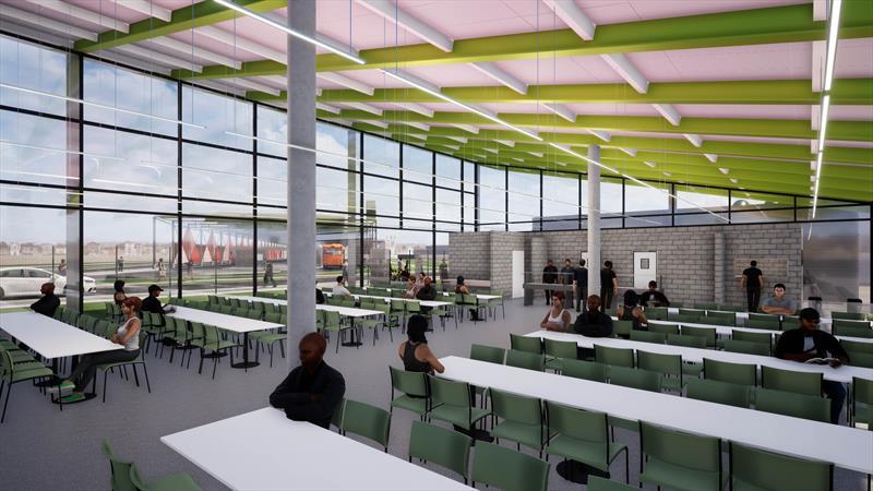Regional Tatuquara terá restaurante popular autossustentável. Foto: Divulgação/IPPUC