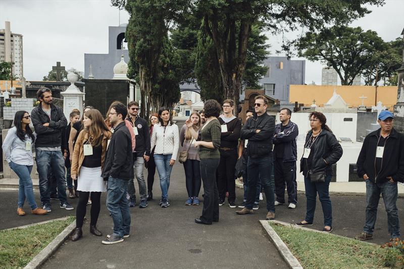 Visita ao cemitério mostra barões da erva-mate e suas influências para Curitiba.  Foto: Divulgação