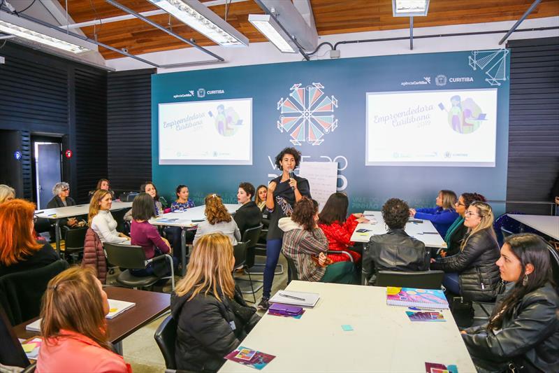 Workshop do Prêmio Empreendedora Curitibana 2019 na Agencia Curitiba, Engenho da Inovação. Curitiba, 06/06/2019 - Foto: Daniel Castellano / SMCS