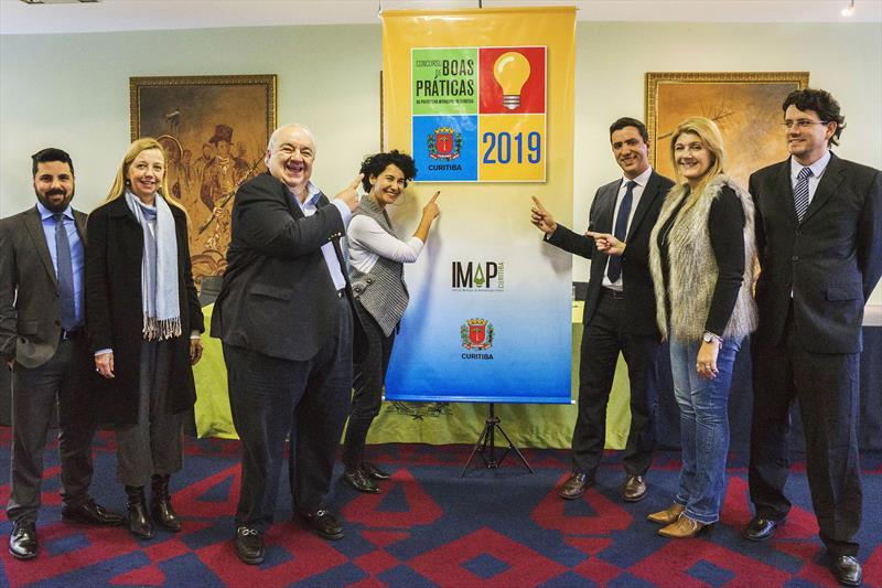 Prefeito Rafael Greca participa do lançamento do Concurso Boas Práticas 2019. Curitiba, 11/07/2019. Foto: Valdecir Galor/SMCS