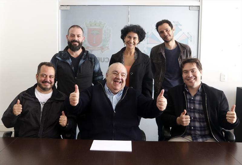 Prefeito Rafael Greca se encontra com Startups. Curitiba, 12/07/2019. Foto: Lucilia Guimarães/SMCS