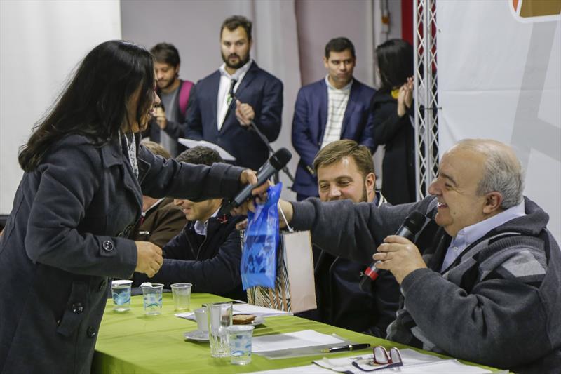 Prefeito Rafael Greca, participa do encontro Prefeitura nos Bairros com moradores da Regional CIC. Curitiba, 17/07/2019. Foto: Pedro Ribas/SMCS