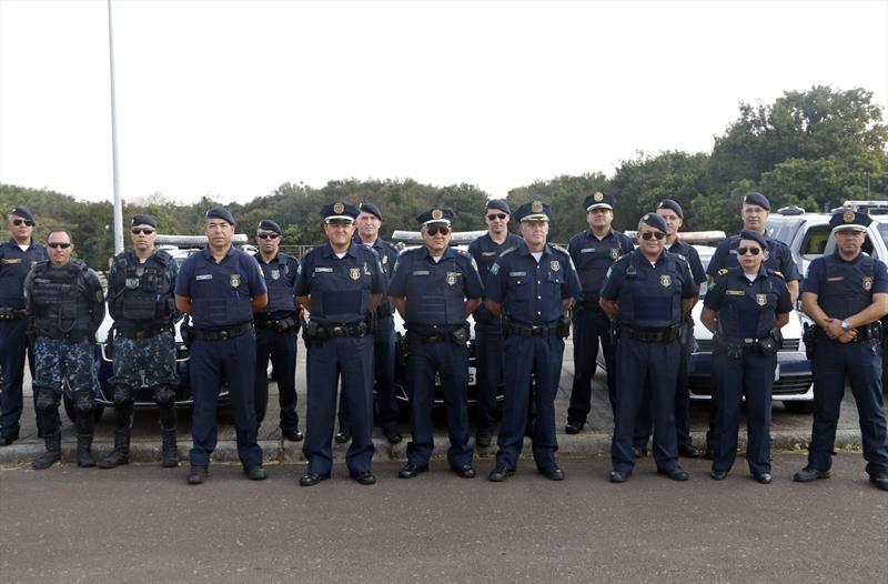 Guarda Municipal e o efetivo da Regional Portão. Curitiba, 29/07/2019. Foto: Lucilia Guimarães/SMCS